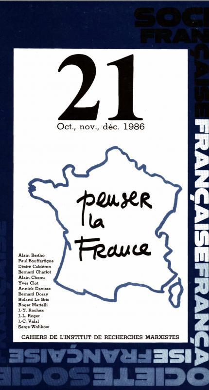 Permière de couverture_Société française 1986