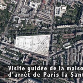 Visite guidée de la maison d'arrêt de Paris la Santé