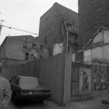 Paris, projet photographique autour du quartier de Belleville (1985)