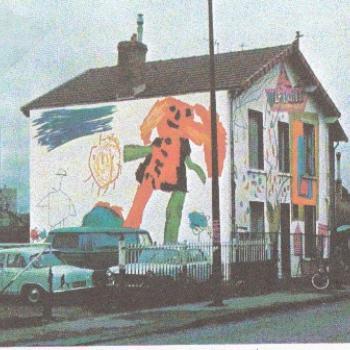 La Maison peinte à Nanterre.